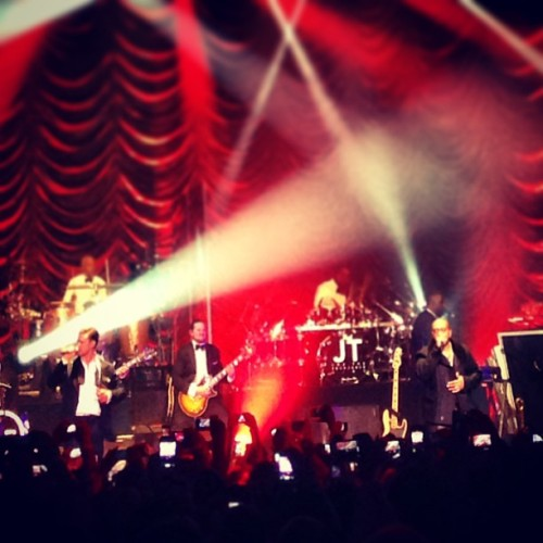 JT and Timbo 🎩 (at Hollywood Palladium)