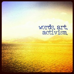 Live by the #sea and float on, to a life lived by #words #art and #activism. #travel #palawan #typography #boat