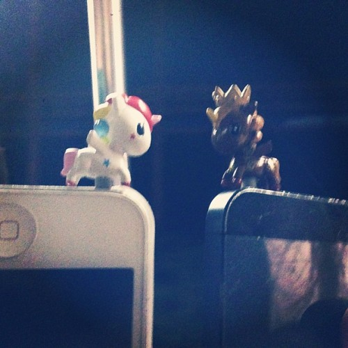 Unicorn phonzies by @tokidoki I WANT TO COLLECT THEM ALL! 😍