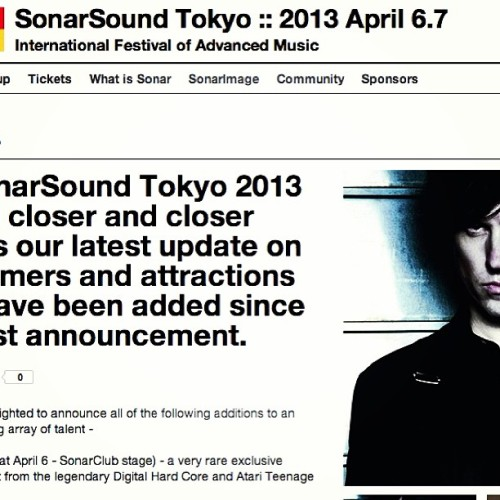 Alec Empire on the wheels of steel next week at Sonar Japan http://www.sonarsound.jp/en/nw/_50#.UVHjYb9JUTs  #alecempire #sonarsound #sonar #tokyo #japan #atariteenageriot