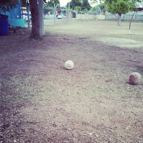 Retired for good #soccer #balls #used