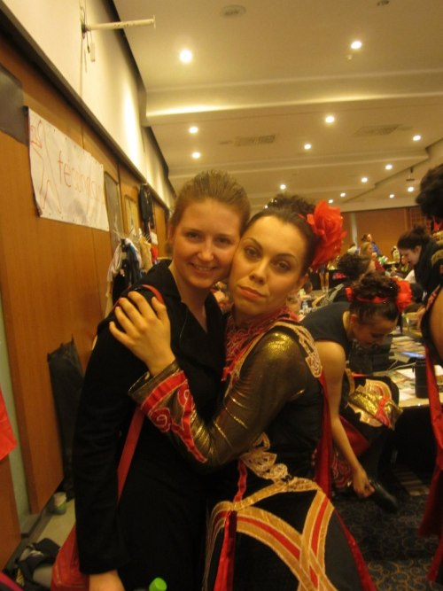 me and my feis-friend, 2012