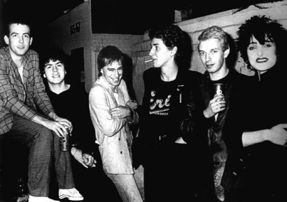 The Cure and Siouxsie and the Banshees, 1979