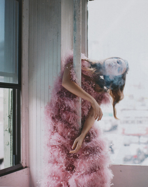 voguelovesme:  Purple Magazine Spring/Summer 2009 photographed by Vanina Sorrenti