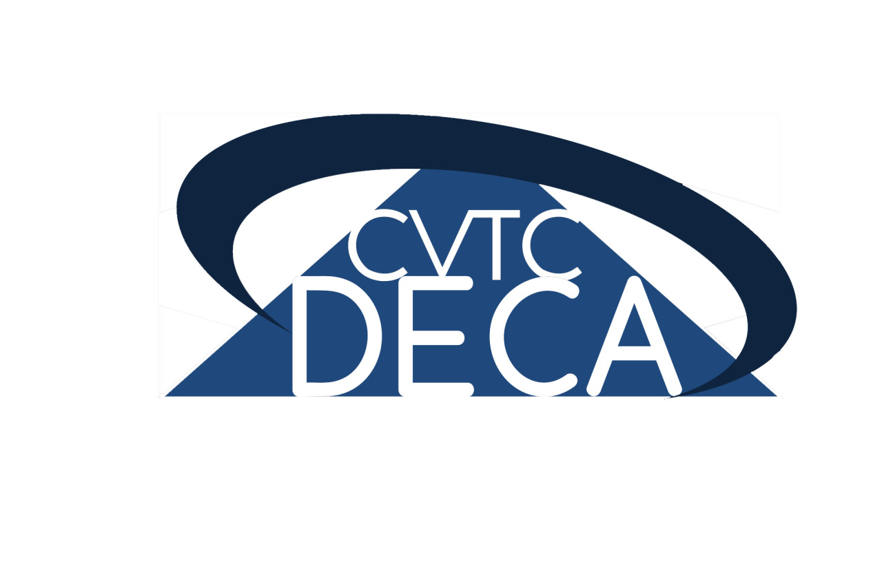 CVTC DECA This is a logo I designed. It was an honor to win out of the other members who competed to submit a winning design.