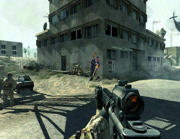 Drake - Screenshot of Drake in the new COD