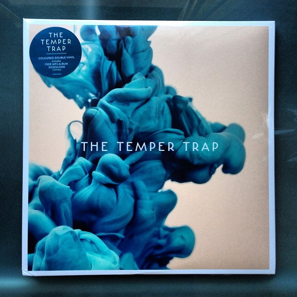 New vinyl from The Temper Trap - the coolest cover ever! #vinyl #cover #music