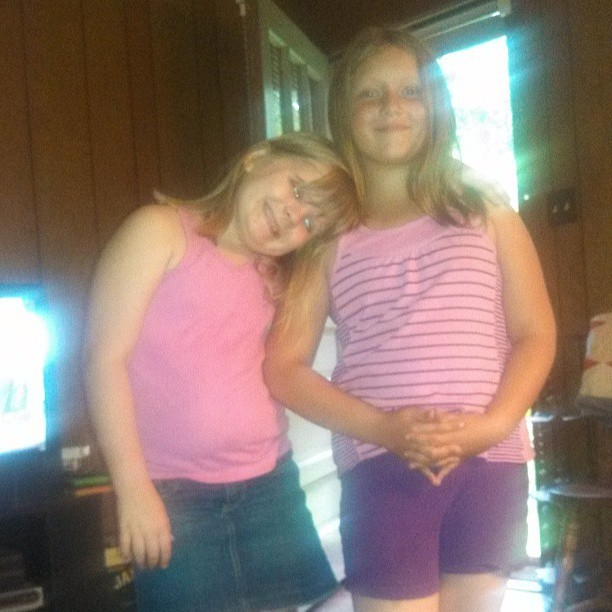 Nieces #instafamily #Carly #Dionycia #nieces #adorable #pink #blondies