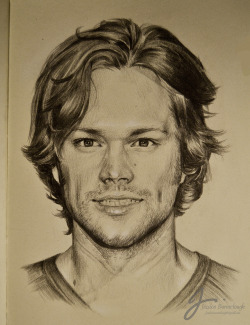 jessyavob:  Jared Padalecki 0.5mm 2B Mechanical Pencil, A5 Moleskine.