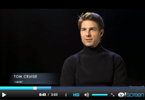 Universal just released an 'Oblivion' movie featurette w/EXCLUSIVE Tom Cruise & Director Joseph Kosinski interviews! http://clicky.me/OblivionFeaturette -TeamTC