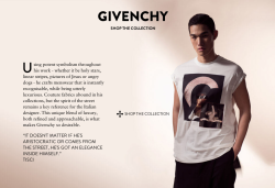 Styling Givenchy Menswear for Lane Crawford E-Commerce with Ph/ Laurent Segretier.