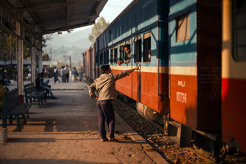 worldwideexplorers:  Last train to Inle LakeA few favorites from over the years, a photo by Christopher.Michel on Flickr.View Post