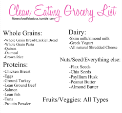 fitbeliever:  Eating clean starts in the kitchen! If you have good food, you will eat good food.
