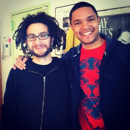 Tomorrow on the Laughspin Podcast— South African comedian @TrevorNoah! -dylan