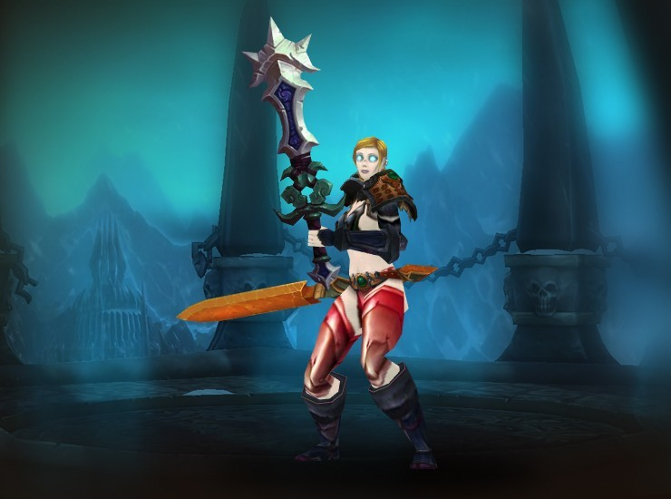 Atheiná of the Nightfall Female Human Death Knight US Tanaris [Contender's Revenant Shoulders] [Warrior's Embrace] [Contender's Revenant Bracers] [Coldbite Gauntlets] [Contender's Revenant Belt] [Bloodscale Legguards] [Coldbite Shoes] [Blade of the Prime] [Sha-Blighted Blade]