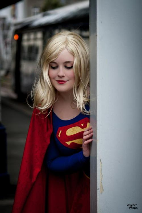 gailsimone:  Supergirl! How are you real?
