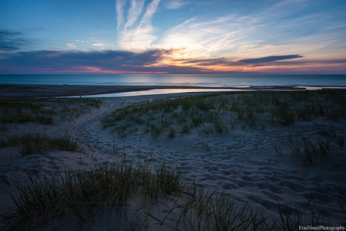 Warren Dunes Sunset on Flickr.