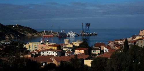 Costa Concordia wreck may finally disappear from Italian beach this summer.