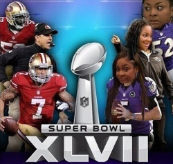 hairspr4y:  thats-so-raven:  49ers vs the ravens