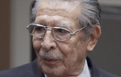 Former Guatemalan President on Trial for Genocide Against Mayan Citizens and Others On January 28, a Guatemalan judge announced that General and former President Jose Efrain Rios Montt along with his chief of intelligence Jose Rodriguez Sanchez could be tried for genocide and crimes against humanity; specifically with Rios Montt for his role in the massacre of 1,771 Mayan Ixil people during his term in office between 1982 and 1983.