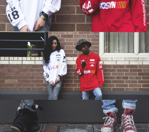 laleali:  Aleali May x Ian Connor for @heronpreston race car bootleg by Morgan Jackson