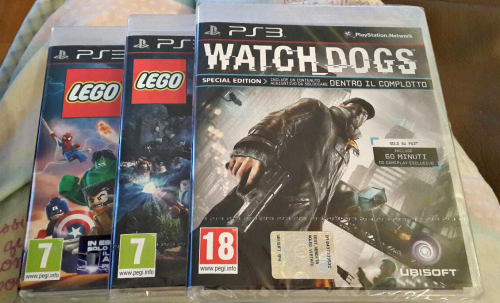 Been a little while since I've been on this blog properly, so here's an update. I decided to pick up a few games while I was at the shops the other night. I have no idea what to expect from the Lego games and I've been excited to play Watch Dogs since E3 last year. My eyes are currently red and recovering from a small bout of conjunctivitis so here's a photo from more fab times. Sometimes it's hard not to feel guilty for taking excessive selfies but my confidence is waaay better than before I started taking a bunch of photos of myself. I also tried soba noodles for the first time. I got the instant kind so I'm not really sure how they compare to the fresh noodles, but they were absolutely delicious. Next week I should be headed to Busto Arsizio with the friend that I went to Gallarate with, so I'll make sure to post some photos!