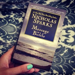 Weekend read. #book #nicholassparks #love #reading