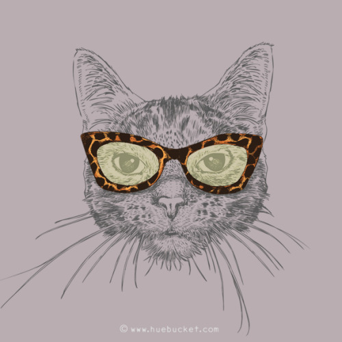 "city-of-vultures:   ""Cat's Eye Sunglasses"" huebucket  (Thailand) via Curioos"