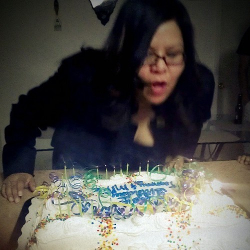 My mommy :) had an early surprise party for her:))))<3