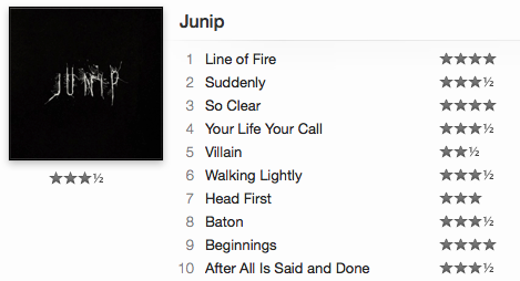 Junip - Junip ( amazon / spotify )