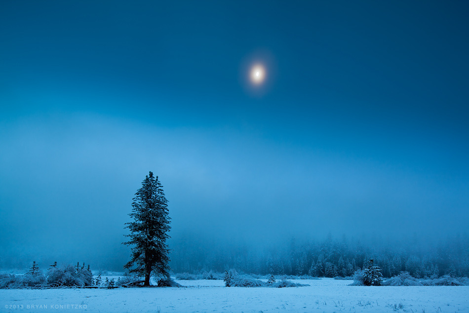 Wawona Dawn // Yosemite National Park, California // 2010 © Bryan Konietzko