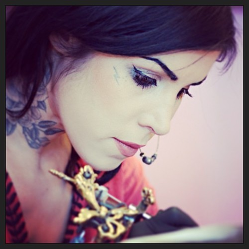 psycho-ghost21:  Kat Von D | via Facebook on We Heart It. http://weheartit.com/entry/61603802