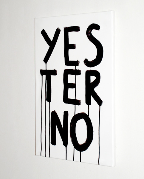 "visual-poetry:  ""yesterno"" by anatol knotek"