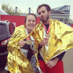 We finished our first marathon!
