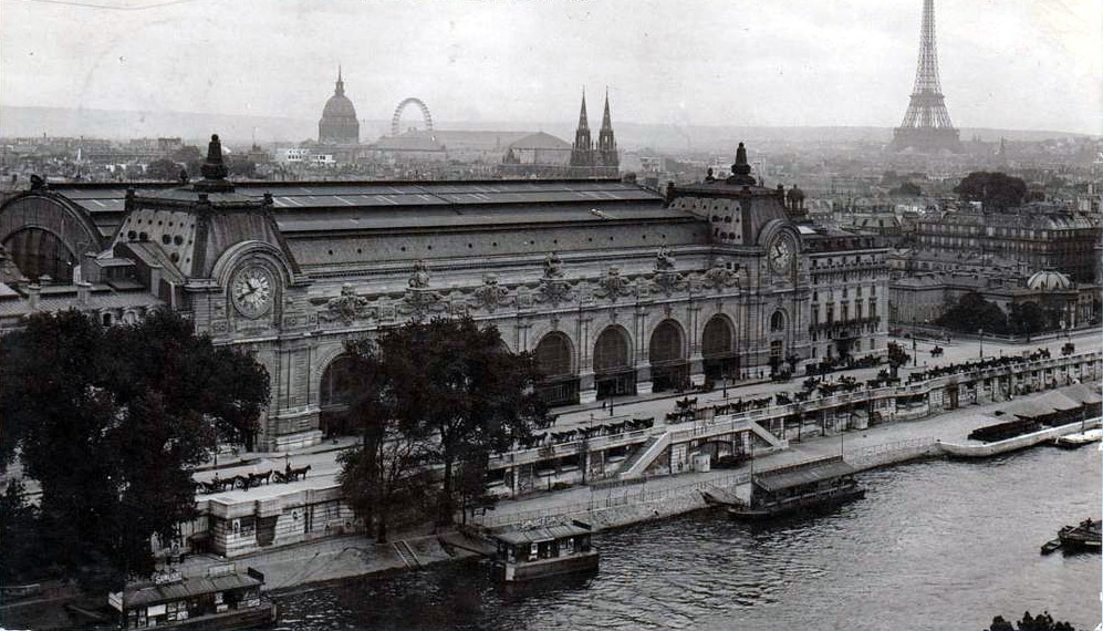 archimaps:  The Gare d'Orsay, Paris