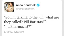 the-absolute-funniest-posts:  theperksofbeinggme: PILL BARISTAS  guys i'm going to be a pill barista when i grow up :')