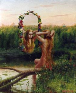 colourthysoul:  Sergei Pertrowitsch Panasenko - Water Nymph
