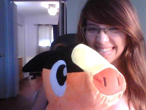 I was sad so Jeff brought me a giant tepig