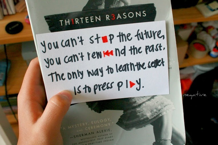 neqative:  13 reasons why is a really good book and you should read it.