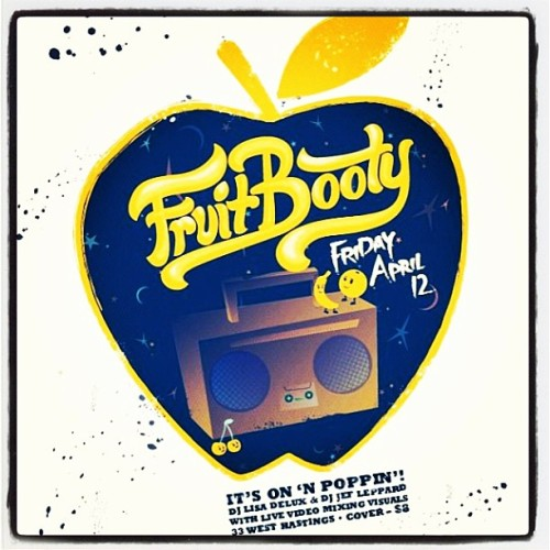 Fruit Booty queer party this Friday in gastown! From the creator of ManUp @theponyest brings u another epic gender bending queer trend setting extravaganza! DJs Jeff Leopard & Delux rock the spot with all music dope 👌👽🚀💦🍻🍌💋😎