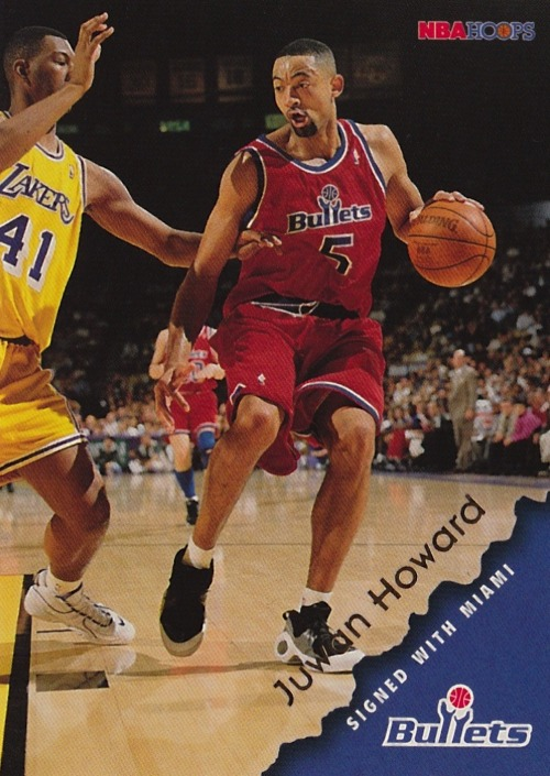1996-97 Hoops #170 Juwan Howard