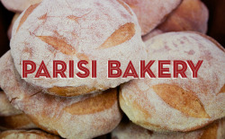 typethatilike:  Parisi Bakery tag-collective.com