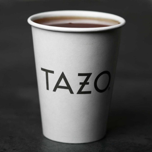 New Tazo logo.  I wish they kept the cross in the O.