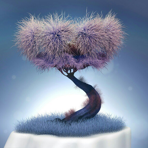 The Tree #tree #zbrush #3D #cg #art #digital #render #photoshop