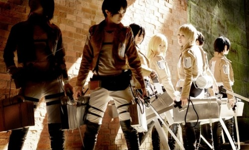 applejpa:  SHINGEKI NO KYOJIN - COSPLAY from WorldCosplay