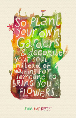 rocketrictic:  Plant Your Own Garden / inspired by