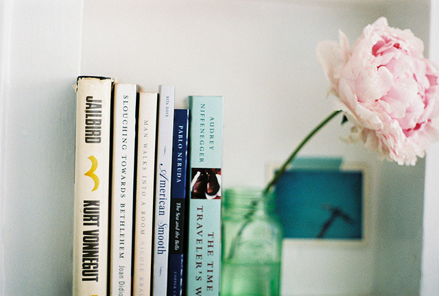 airudite:  Book Shelves by S. Shorey on Flickr.