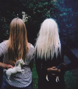 photography vintage Grunge blonde pale