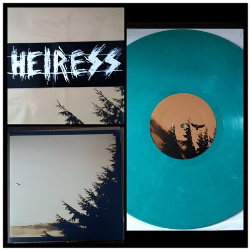 My Heiress record and sticker came in! Dope!