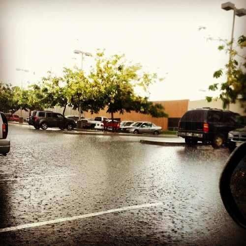Just a little afternoon rain.  (at Target)